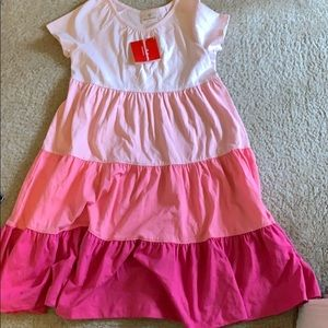 Many color pink Hanna Andersson feminisms dress